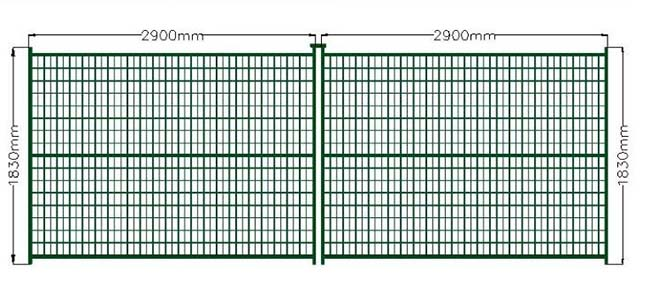 Welded Wire Temporary Construction Fence